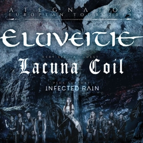 Eluveite, Lacuna Coil & Infected Rain