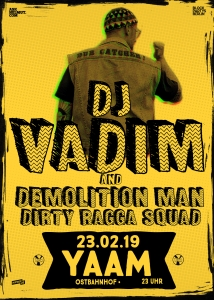 The Dub Catcher DJ Vadim & Demolition Man (live)