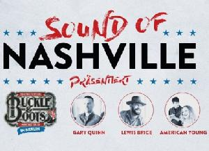 Sound Of Nashville presents: American Young, Lewis Brice & Gary Quinn