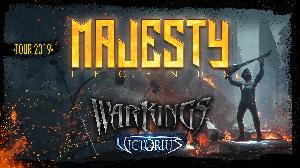 Majesty + Warkings + Victorius
