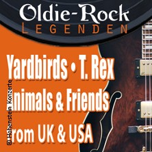 Yardbirds & Animals and Friends & T. Rex Oldie Rock Legenden