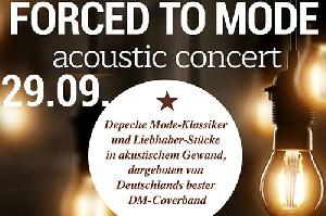FORCED TO MODE - acoustic tour 2019