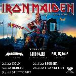 Iron Maiden + Airbourne + Lord of the Lost
