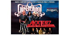 GIRLSCHOOL + ALCATRAZZ