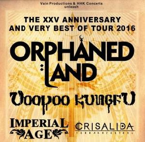 Orphaned Land, Voodoo Kungfu, Imperial Age