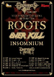 MTV`s Headbangers Ball Tour 2017 Max & Iggor Cavalera return to ROOTS