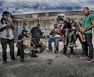 THE HOT 8 BRASS BAND (Tru Thoughts /USA) - LIVE