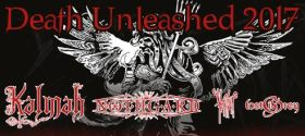 Death Unleashed Tour mit Kalmah, Nothgard, Heretoir & Lost in Grey