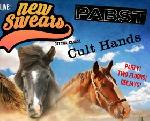NEW SWEARS, PABST & CULT HANDS live!