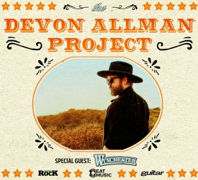 THE DEVON ALLMAN PROJECT featuring special guest DUANE BETTS