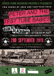 Peter And The Test Tube Babies + Berlin Blackouts + After Show Party