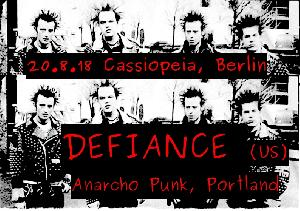 DEFIANCE (Anarcho Punk from Portland)