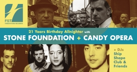 STONE FOUNDATION + CANDY OPERA